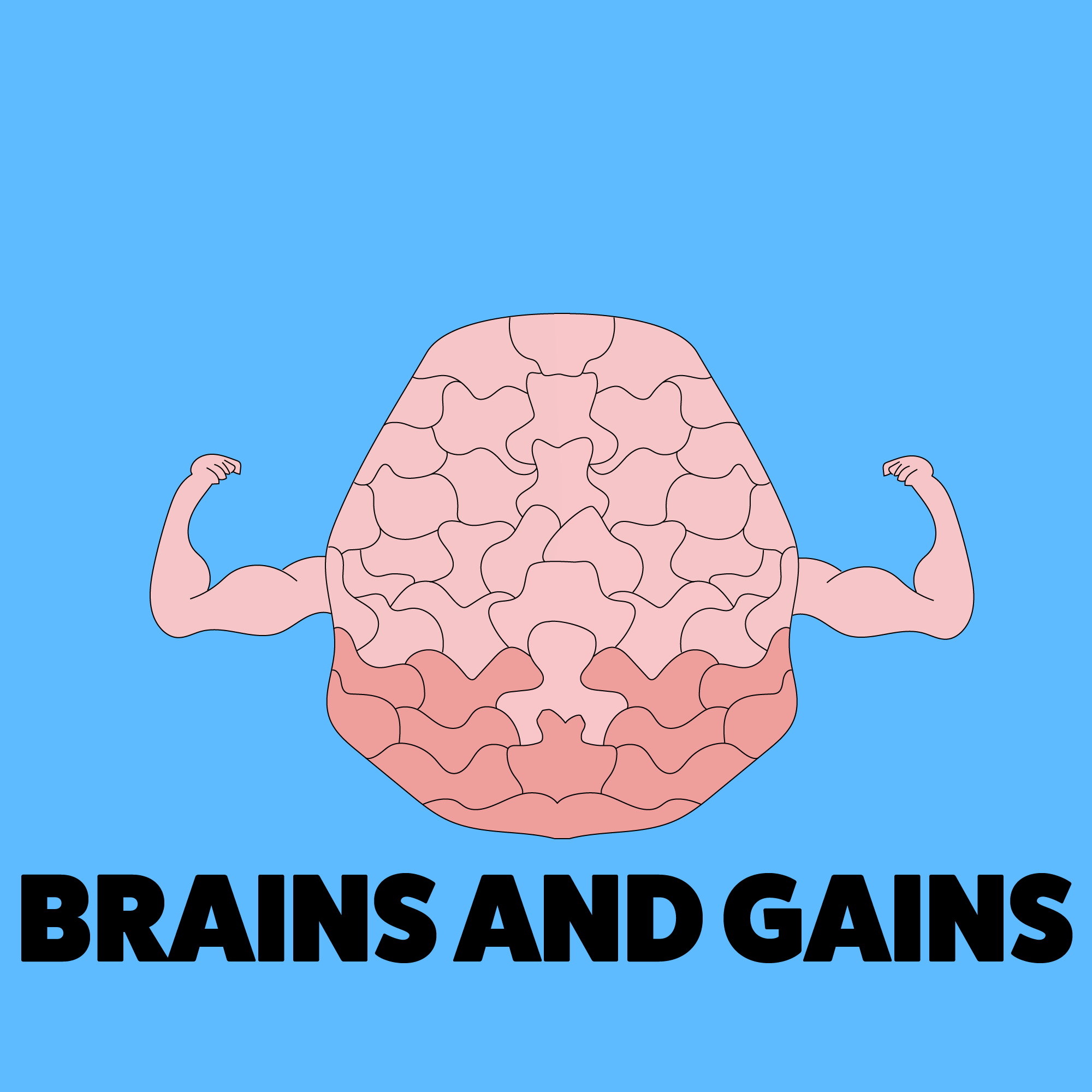 Brains & Gains LOGO
