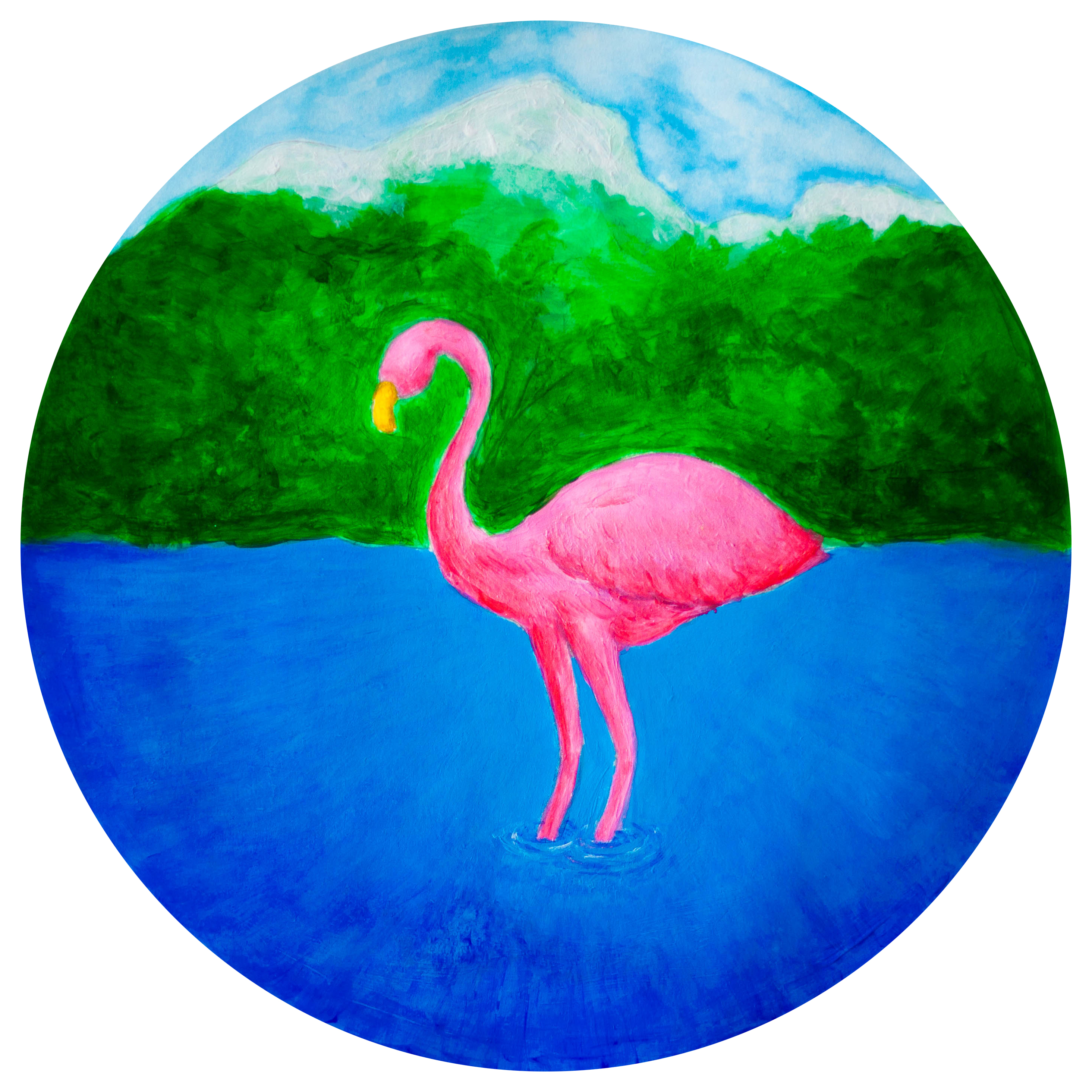 Flamingo in the Fjord logo